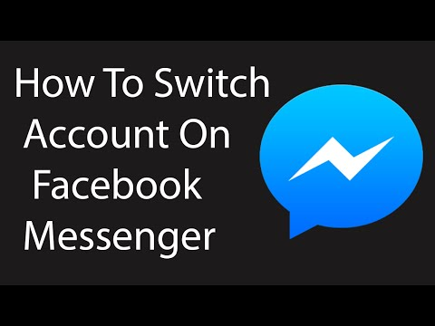 How To Switch Account On New Facebook Messenger Mobile App -2016 ?