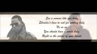 jennifer hudson ft r kelly it s your world lyrics hd