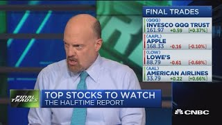 Final trades: Apple, Twitter, Lowe's, American Airlines & Tech