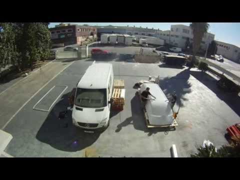 FRP High Roof Installation On A Mercedes Sprinter W906 - TIME LAPSE