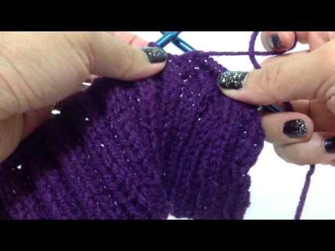 Hướng dẫn đan khăn vặn thừng p2 đan đoạn văn thừng