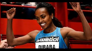 Genzebe Dibaba Smashing Indoor Mile World Record At Globen Galan 2016 Full Race Video In HD