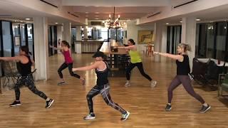 Sample kickboxing workout!