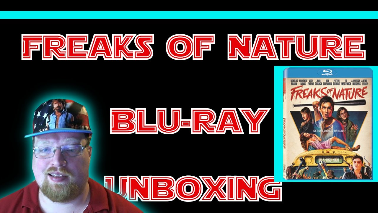 Download Freaks Of Nature Blu-Ray Unboxing (Giveaway Ended)