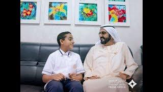 محمد بن راشد يتفقد سير العملية التعليمية في عدد من مدارس المنطقة الشرقية