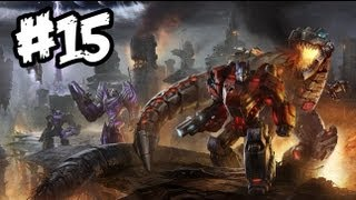 Transformers Fall of Cybertron - Gameplay Walkthrough - Part 15 - DINOBOTS!! (Xbox 360/PS3/PC)
