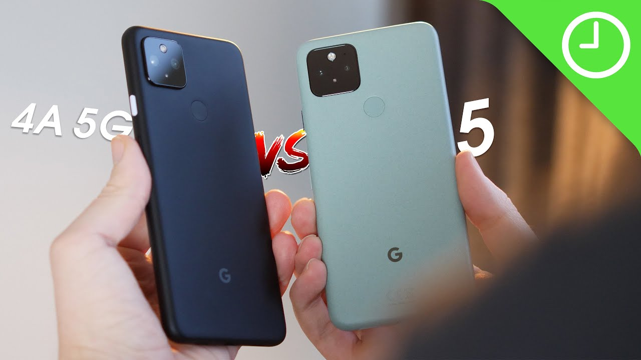 Pixel 4a 5G vs. Pixel 5: Which should you choose? - 9to5Google