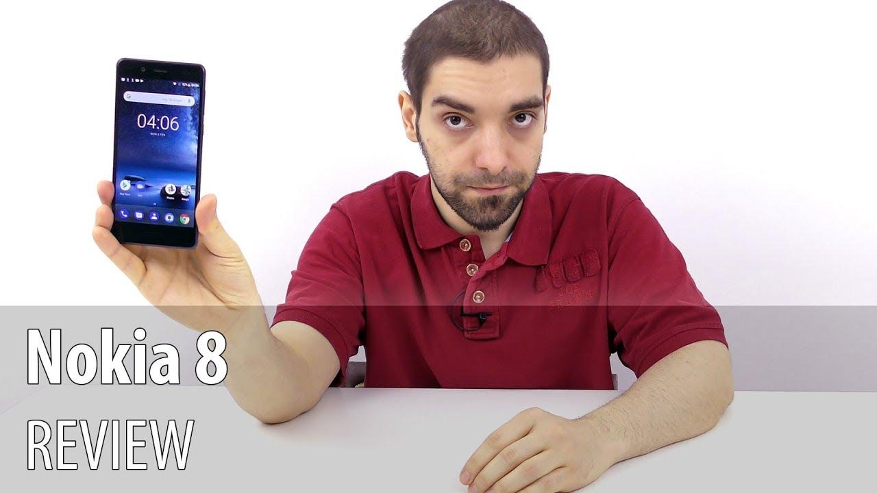 Nokia 8 Review în Limba Română (Telefon flagship cu cameră duală Zeiss)