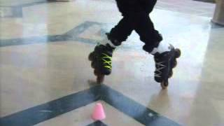 Freestyle Slalom Tricks Toe Toe Screw