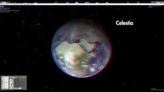 Astronomy Applications Celestia and Mitaka in 3D Stereo with moreStereo3D