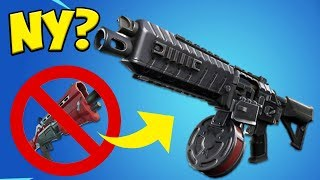 WILL THE TACTICAL SHOTGUN BE EXCHANGED?! * Leaked * | Fortnite Battle Royale in English