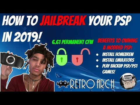 How To Mod/Jailbreak Your PSP In 2019! [Infinity Permanent 6.61 CFW] + PSP Games/Emulators!