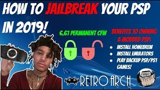 How To Mod/Jailbreak Your PSP In 2019! [Infinity Permanent 6.61 CFW] + PSP Games/Emulators!