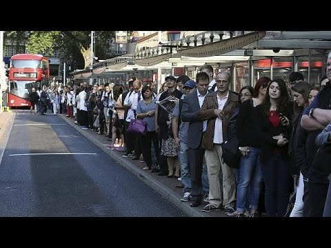 London brought to near standstill over Tube-driver strike