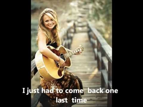 House That Built Me, Miranda Lambert, Instrumental w/ lyrics