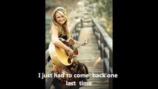 House That Built Me, Miranda Lambert, Instrumental w/ lyrics