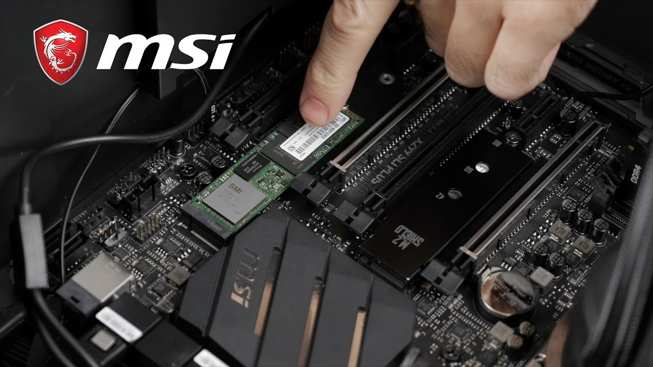 Easy M.2 SSD RAID 0 Configuration Setup | Gaming Motherboard | MSI