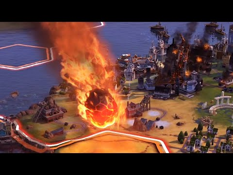 I Caused The Apocalypse As Fast As Possible In Civilization 6