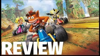 Crash Team Racing Nitro-Fueled Review - We Brake for Bandicoot's (Video Game Video Review)