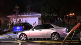 House fire in Rolando (San Diego) displaces one female - 1/26/16