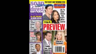 6-22-15 SOD Y&R SPOILERS Sharon Pregnant Young Restless Jack Cane Lily Susan Lucci AMC Promo 6-19-15