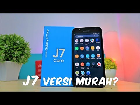 Samsung Galaxy J7 Core - Unboxing Indonesia