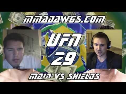 UFC Fight Night 29 Sports Betting Picks & Predictions by MMA Dawgs!