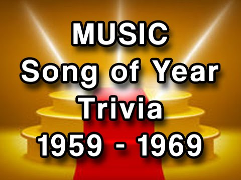 Music Trivia  Grammy Winners 19591969