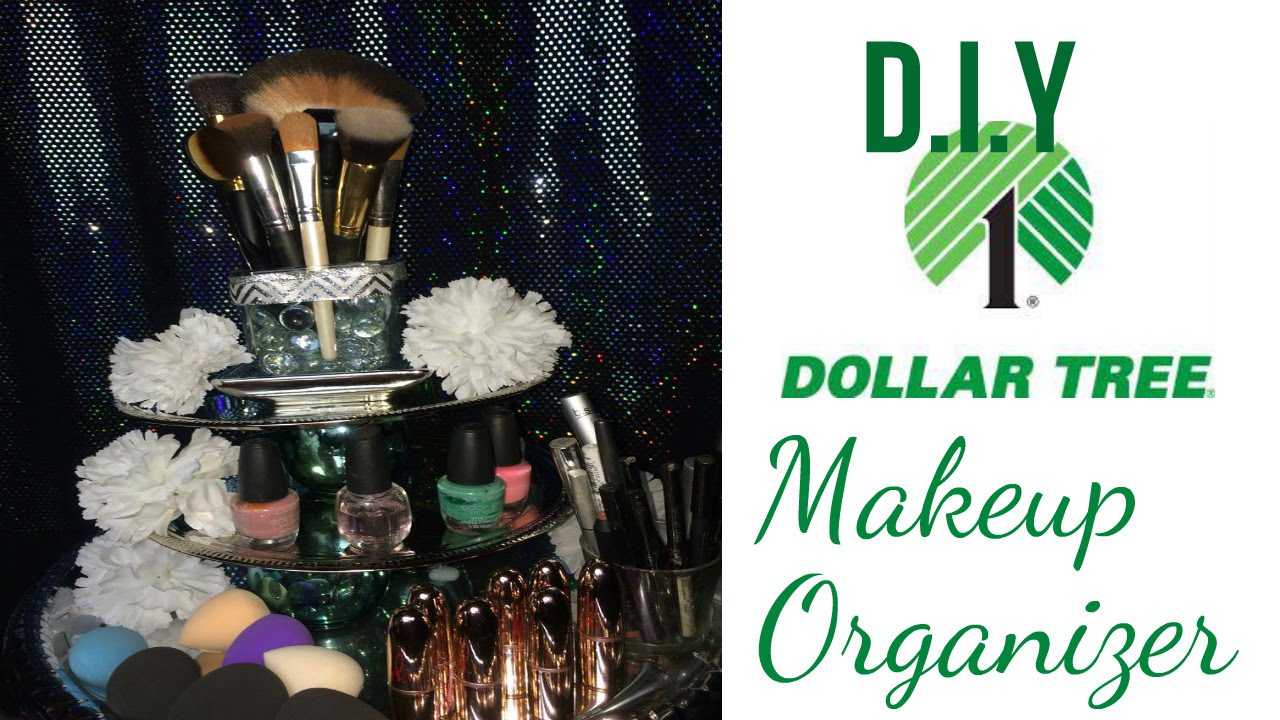 12 DIY Dollar Tree Makeup Organizer Affordable Vanity