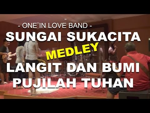 Sungai Sukacita / Langit dan Bumi Medley - OIL Band's ( Latihan Mode-On )