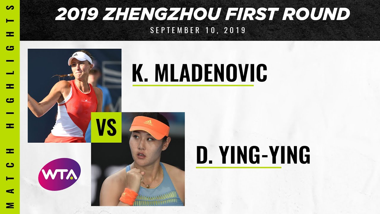 Kristina Mladenovic vs. Duan Ying-Ying | 2019 Zhengzhou Open First Round | WTA Highlights