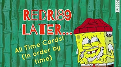 All Spongebob Time cards in order (by time)