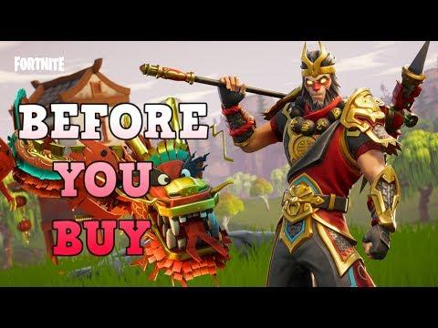 Wukong   Royale Dragon - Before You Buy - Fortnite Skins