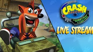 The Wrath Begins - Crash Bandicoot Wrath of Cortex LIVE STREAM