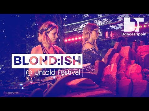 BLOND:ISH on the Daydreaming Stage at Untold Festival (Romania)