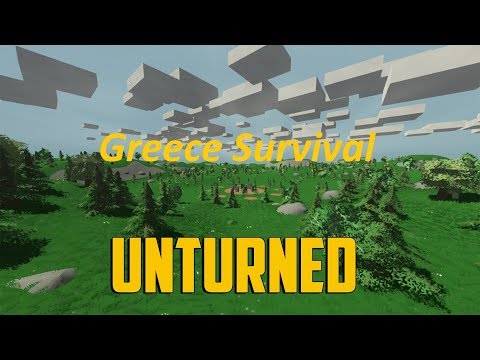 Unturned Greece Survival on Evermore PVP Server (Greek Gameplay)