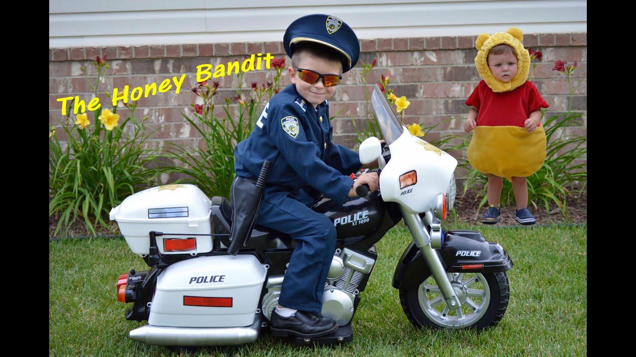 Little Heroes Kid Motorz Police Motorcycle Kid Cops Honey Bandit ...
