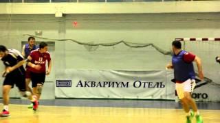 Сергей Косенков. Первая тренировка в новой команде. Гандбол