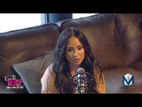 Demi Lovato  With Julia 987 AMP Radio