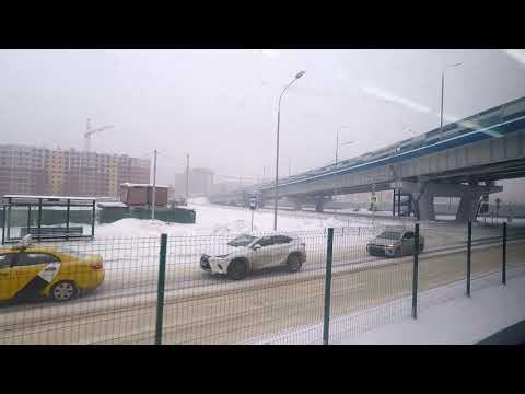 ЭД4М 0401 Дубна-Москва (экспресс), отправление со станции Дубна 26.01.19