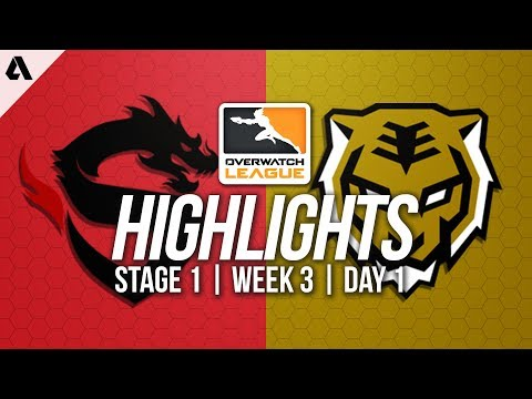 Shanghai Dragons vs Seoul Dynasty ft Wekeed Undead | Overwatch League Highlights OWL Week 3 Day 1