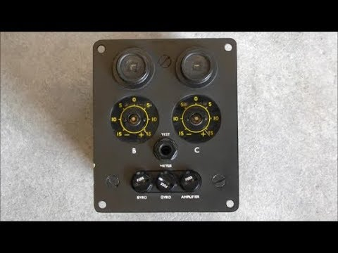 Sperry gyrocompass corrector box teardown