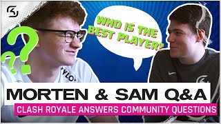 MORTEN & XOPXSAM answer YOUR Questions! | SK Clash Royale