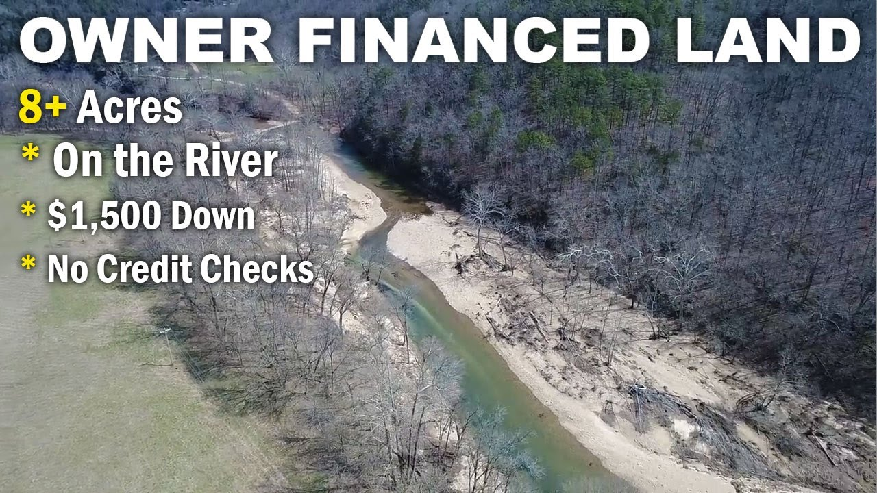 $500 down owner financing - 8 acres w/ rock building on river -  www InstantAcres com - ID#BC03