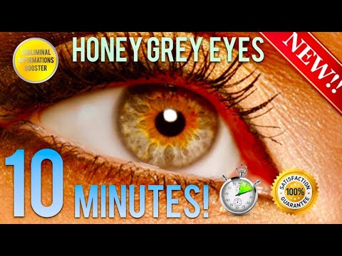 🎧GET EXOTIC HONEY GREY EYES IN 10 MINUTES! SUBLIMINAL AFFIRMATIONS BOOSTER! REAL RESULTS DAILY!
