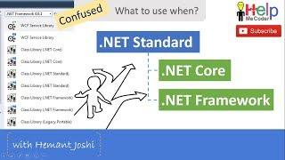 Understanding .NET Standard, .NET Core and .NET Framework