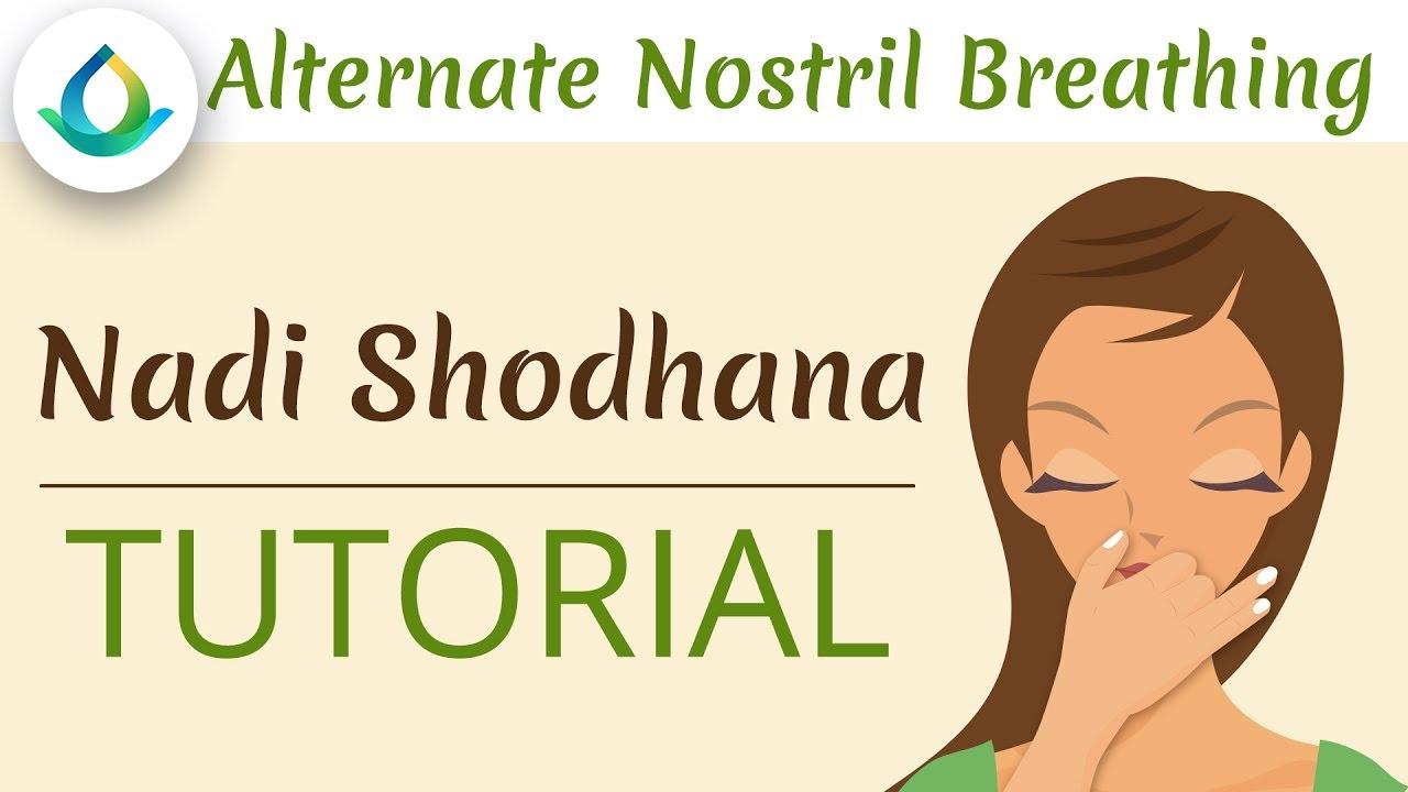 Nadi Shodhana Pranayama - Alternate Nostril Breathing (Tutorial) ❁ Gaia  Meditation