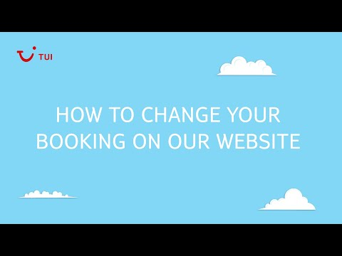How to change your booking online | TUI help & FAQs