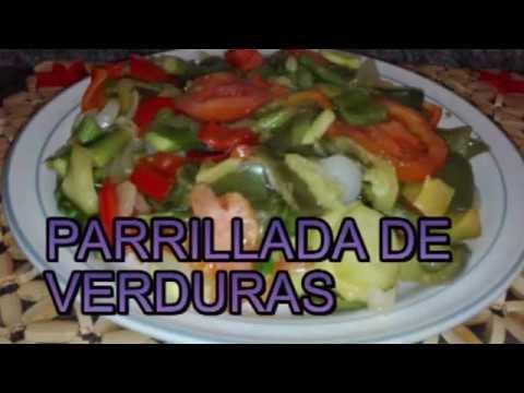 Parrillada de verdura youtube for Parrillada verduras