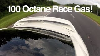 Nissan GT-R on Race Gas (Shell URT100 Octane)